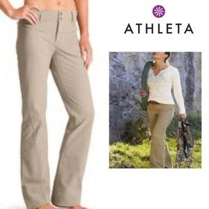 Athleta Khaki Dipper Lightweight Hike Pants 683761